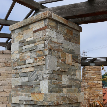 Graniterock products - Building river stone walls with mortar sobriety and elegance ...