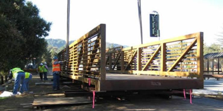 Foothill College Pedestrian Bridge