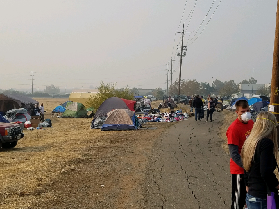 Help for Camp Fire victims