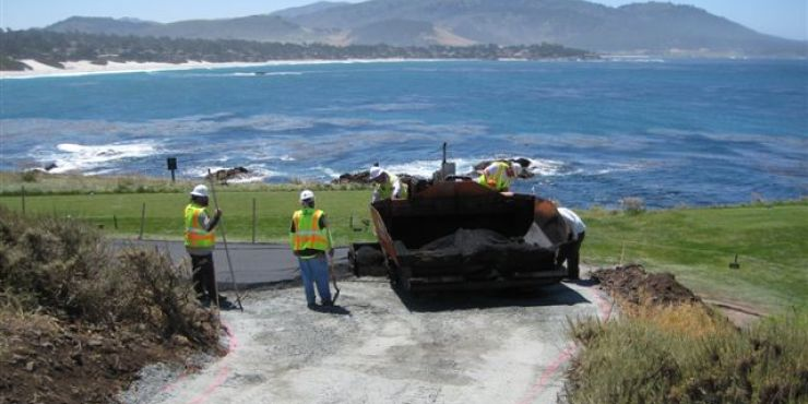 Pebble Beach Path Improvements