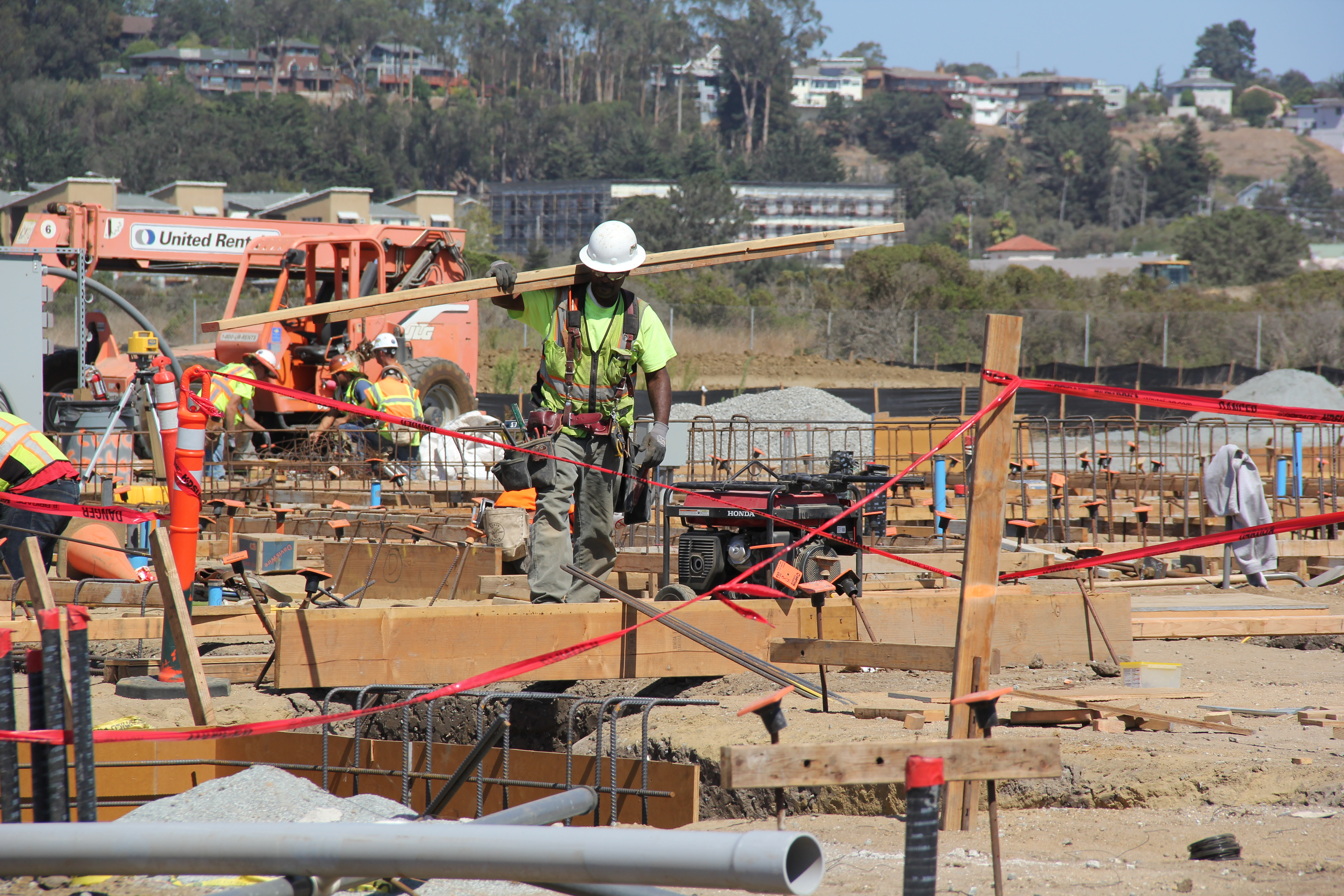 One of Santa Cruz's largest construction projects in years