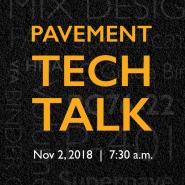 Link to Tech Talk November 2018