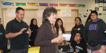 Link to read full article 'Graniterock Teams with KWAV 96.9 FM to Honor Teacher of the Month'