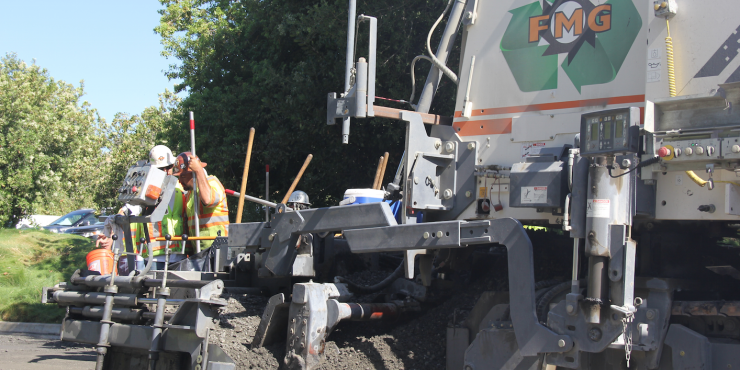 Recycling Santa Cruz streets with innovative CIR paving technology