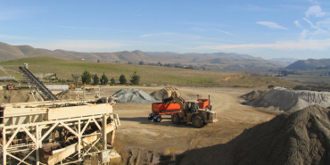 Link to read full article 'Southside Sand and Gravel, a state leader in safety'
