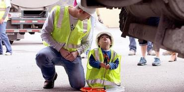 Link to read full article 'Seaside 3-Year-Old Cancer Survivor Granted Wish to Be a Builder'