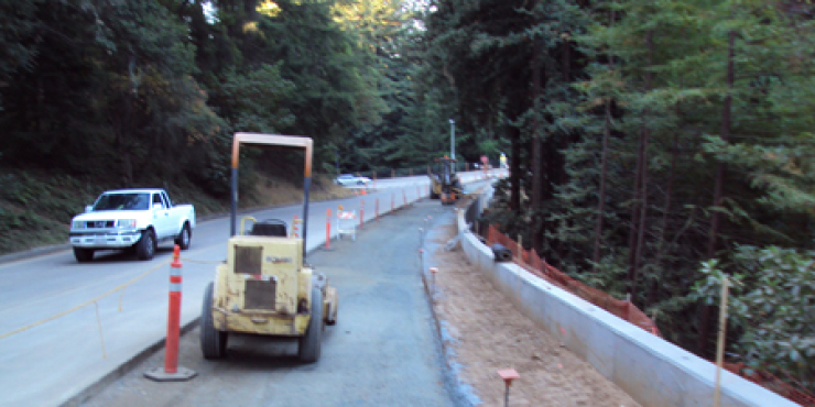 Chinquapin and McLaughlin Street Improvements at UCSC