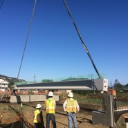 Thumbnail navigation item to preview New bridge for city of Martinez image