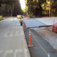 Thumbnail navigation item to preview Chinquapin and McLaughlin Street Improvements at UCSC image