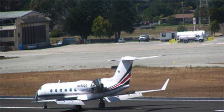 Salinas Municipal Airport Runway