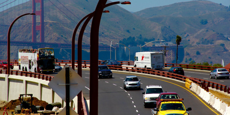 Link to read full article 'San Francisco gateway rebuilt with Graniterock HMA'