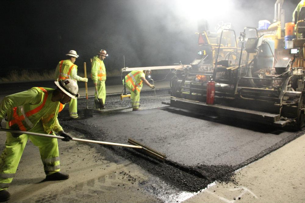 New leadership on Graniterock's paving crew
