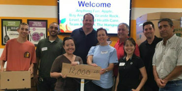 Link to read full article 'Construction team recognized for food bank donations'