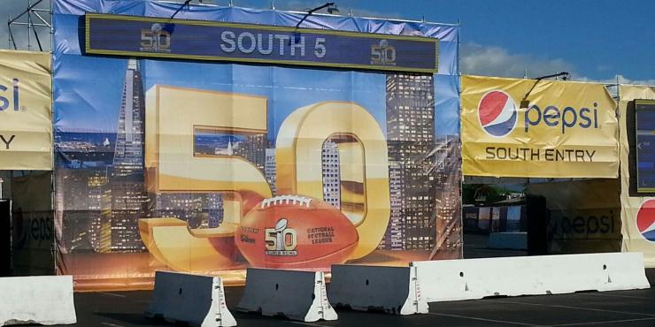 Graniterock scores Superbowl 50 project