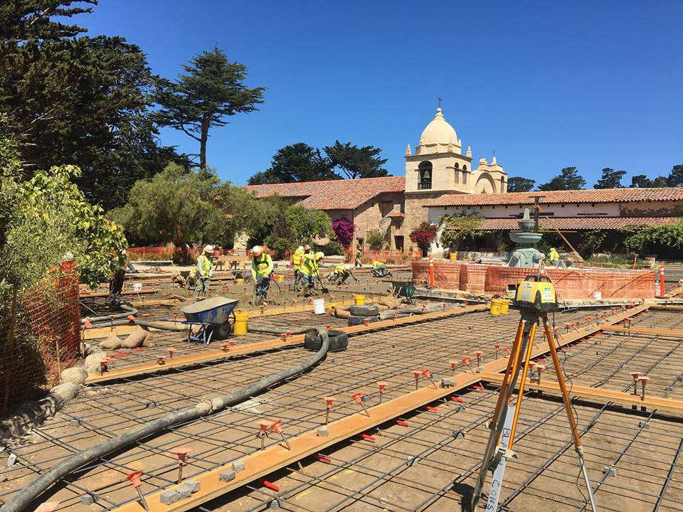 Restoring the Carmel Mission