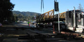Thumbnail navigation item to preview Foothill College Pedestrian Bridge image