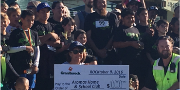 Link to read full article '2016 Rock N Run raises $10,000 for Aromas School'