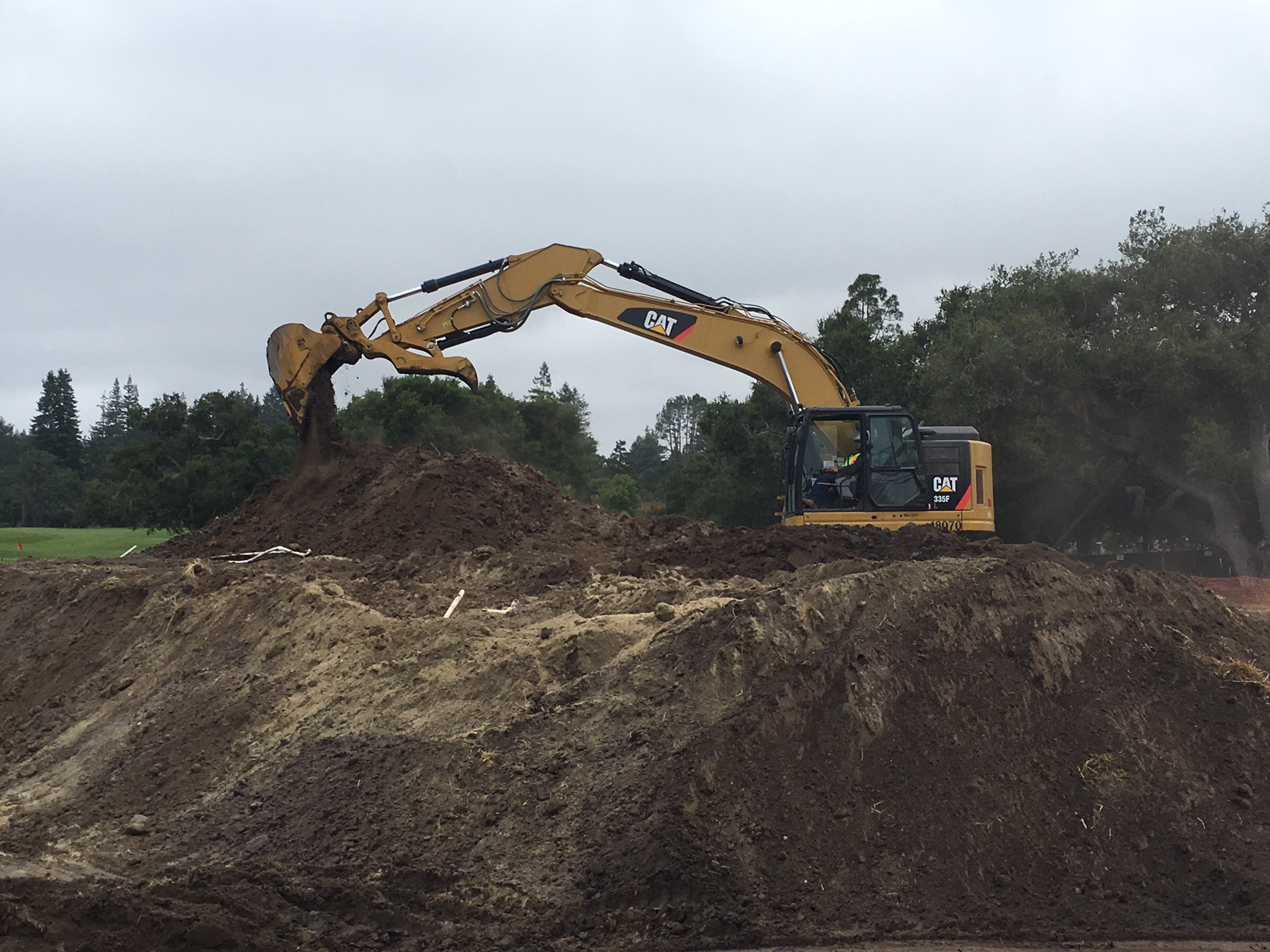 Golf Channel keeps watch on construction project