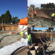 Thumbnail navigation item to preview Concrete for new skate park in Watsonville image