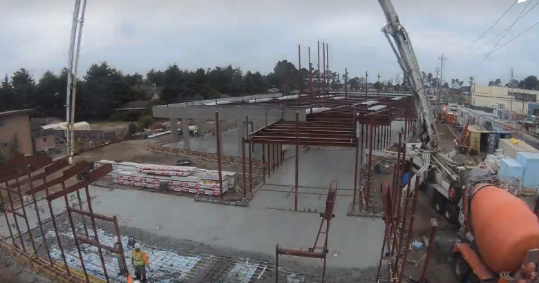 Graniterock helps Half Moon Bay Library go for LEED gold with green concrete