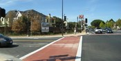 Thumbnail navigation item to preview El Camino Real and Stanford Avenue Streetscape image