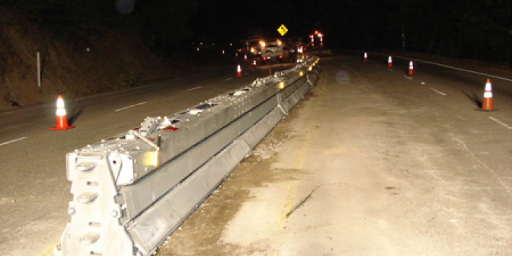 Highway 17 at Glenwood Curve