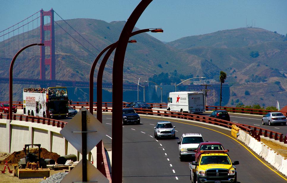San Francisco gateway rebuilt with Graniterock HMA