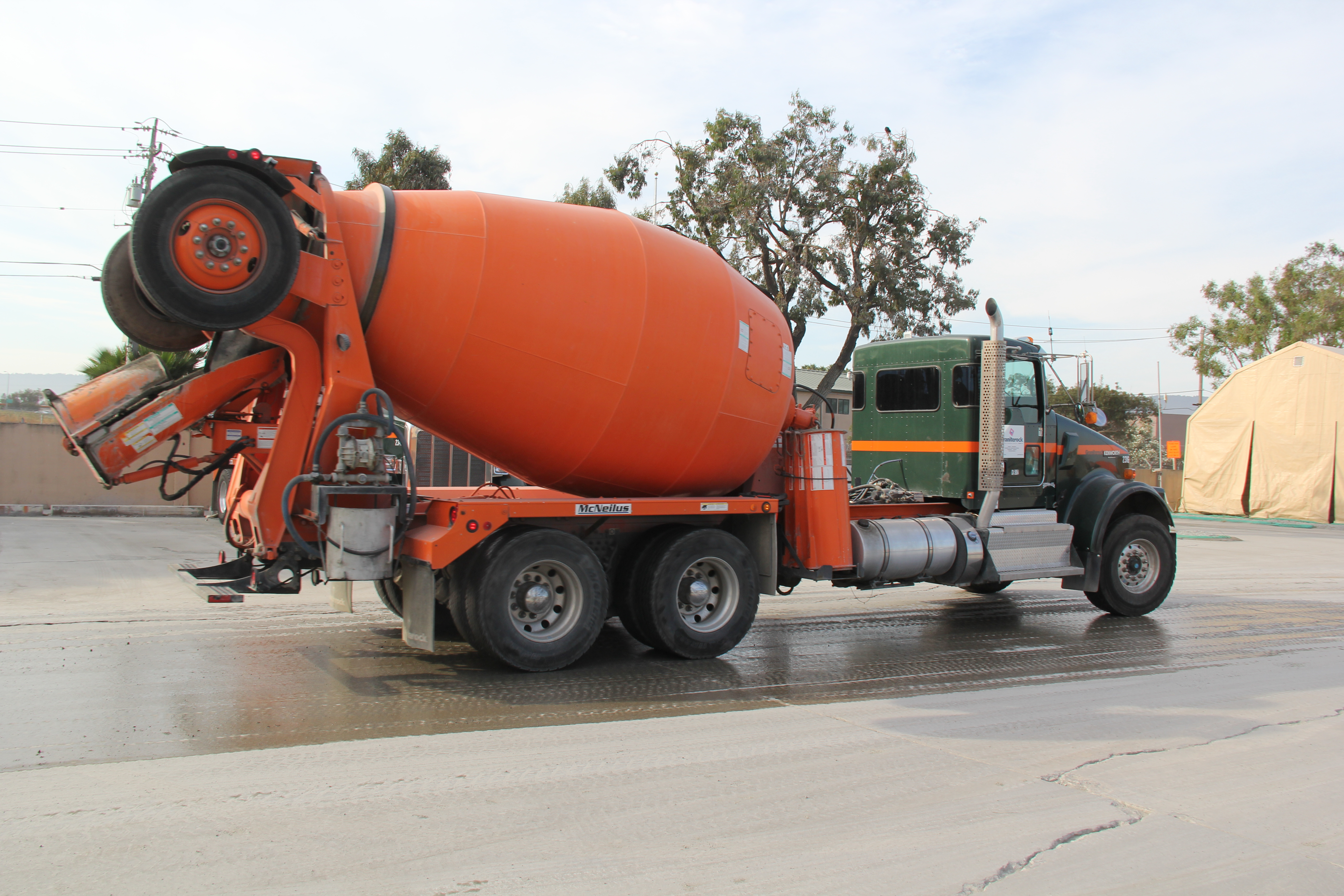Sacramento's surprise for public works ready-mix drivers