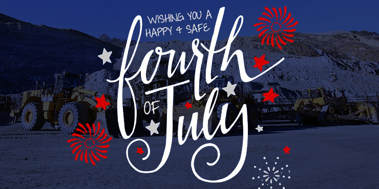 Have a happy, safe Fourth of July