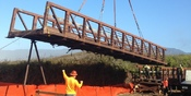 Thumbnail navigation item to preview Replacing an aging bridge in Half Moon Bay image