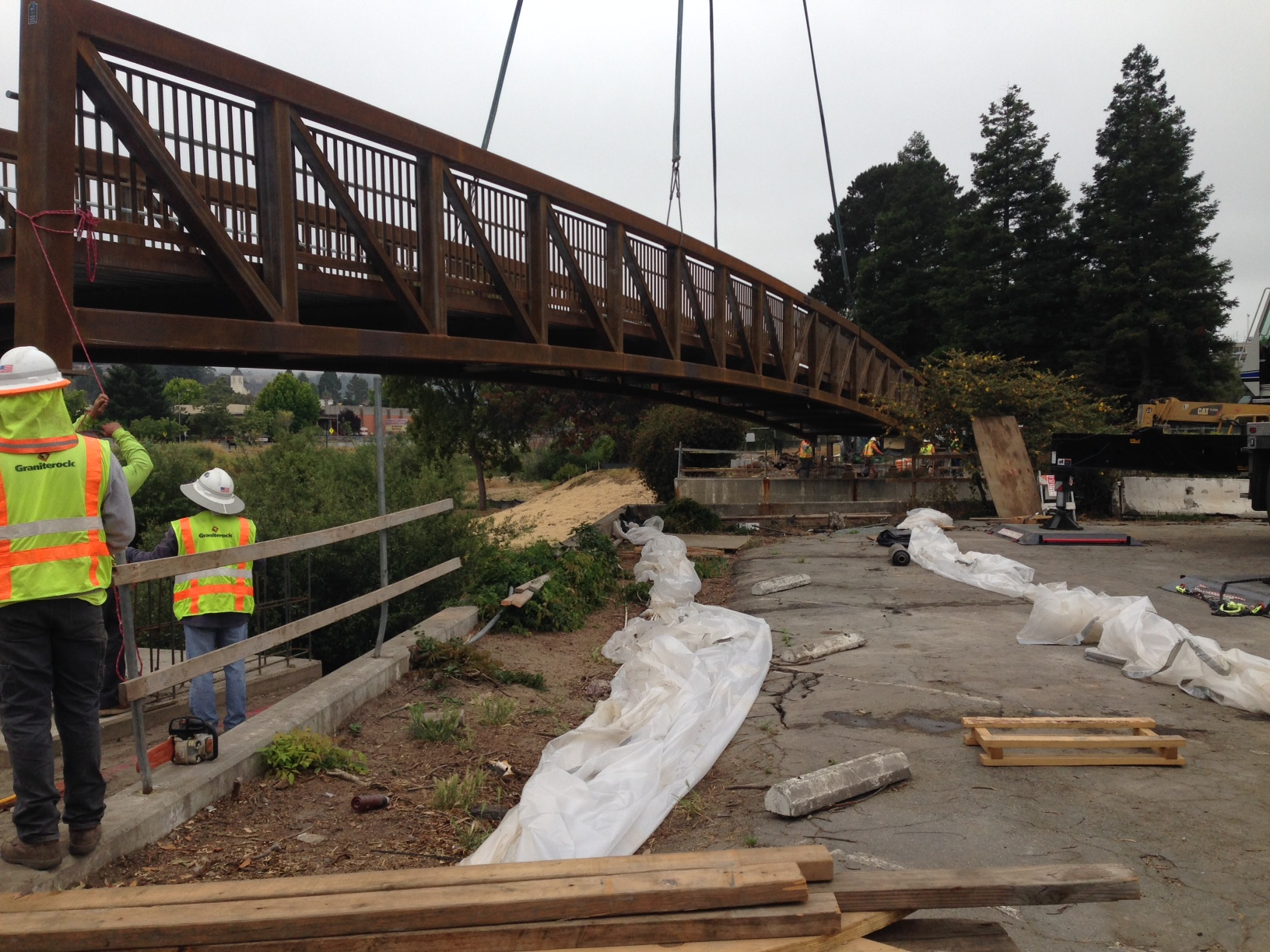 New bridge for Santa Cruz