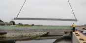 Thumbnail navigation item to preview Building new bridge in Pacifica means balancing delicate needs of nature image