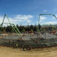 Thumbnail navigation item to preview Concrete mat foundation for San Jose apartment complex image
