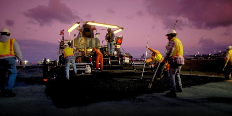 Working Together: One of the best paving teams in the industry
