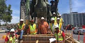 Thumbnail navigation item to preview Downtown San Jose statue move image