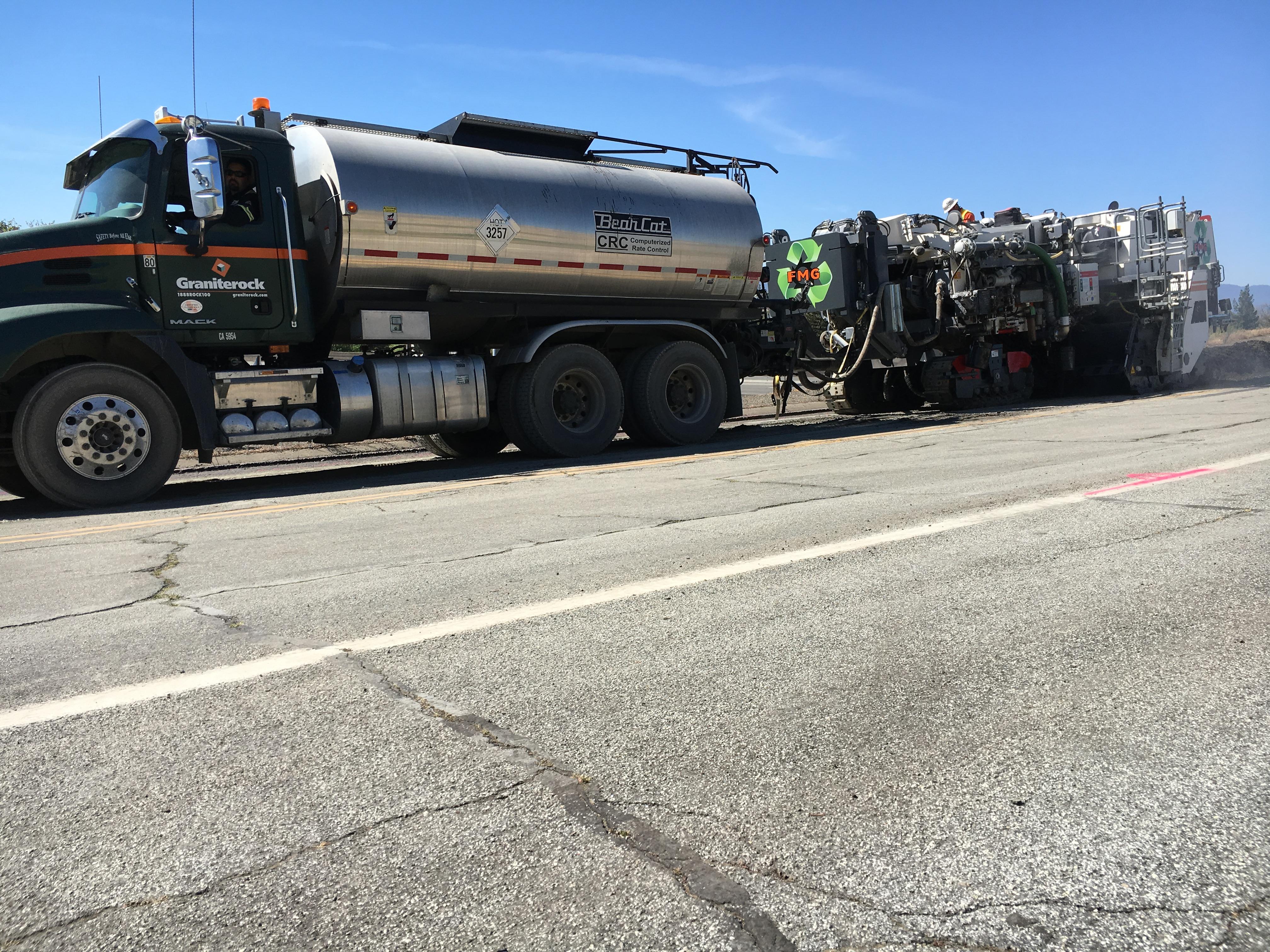 Caltrans moves ahead with foamed asphalt CIR