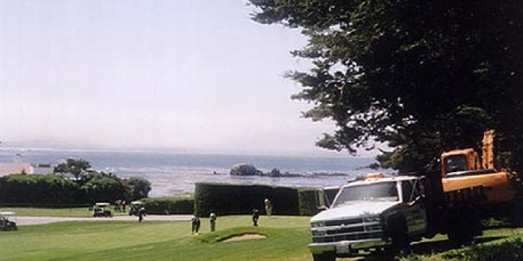 Pebble Beach Cart Pathways