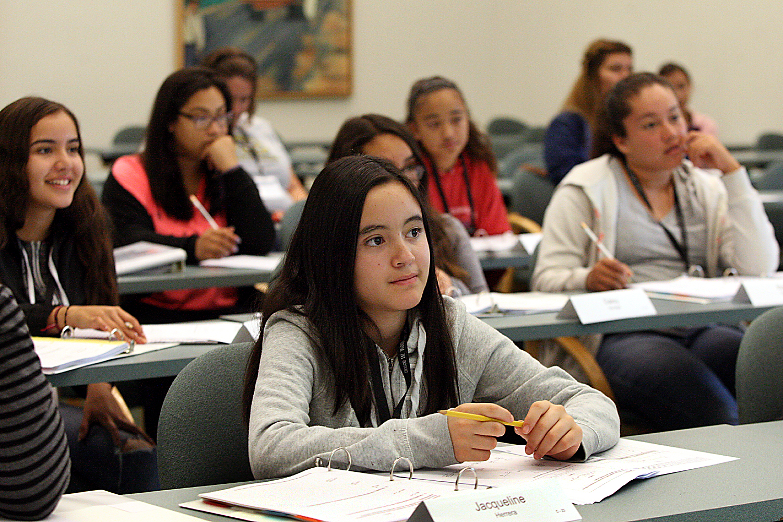 Teens sharpen math skills at Algebra Academy