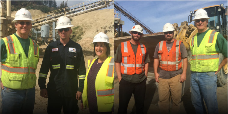 Working Together: Small team keeps sand plants running smoothly