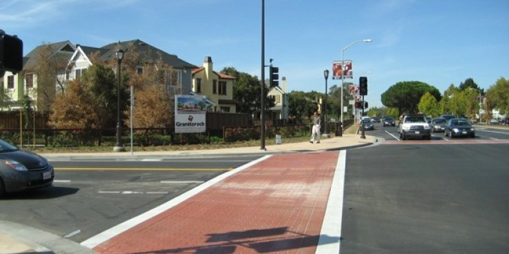 El Camino Real and Stanford Avenue Streetscape