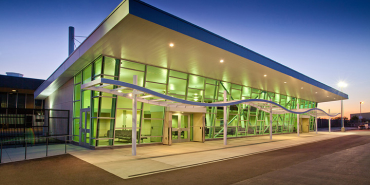 Construction Division lands new territory with Stockton airport