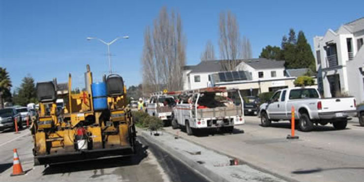 City of Santa Cruz Median Improvements