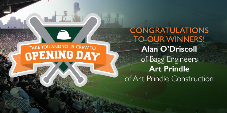 SF Giants opening day winners