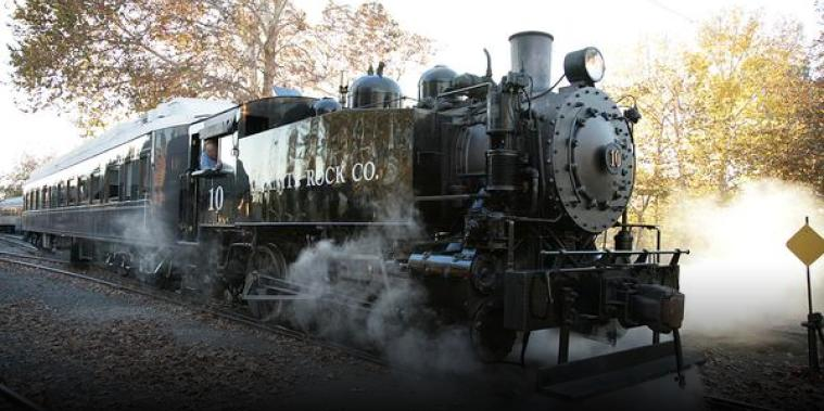 Historic steam engine back on track