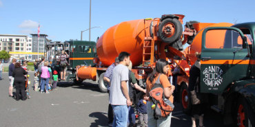 Link to read full article 'Touch-A-Truck Day'
