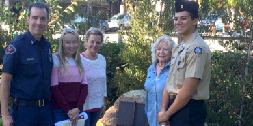 Link to read full article 'Graniterock provides boulder for Carmel's Sept. 11 memorial'