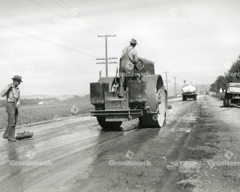 1928 Road Construction